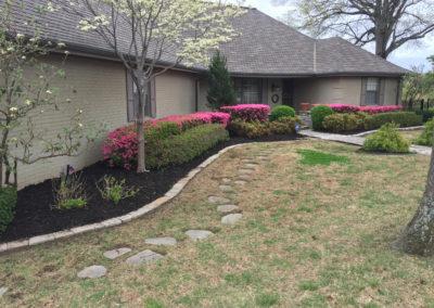Adams Lawn Maintenance Flower Beds-April